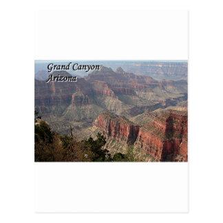 Borde del norte del Gran Cañón, Arizona, los Postal