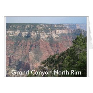 Borde del norte del Gran Cañón Tarjeta