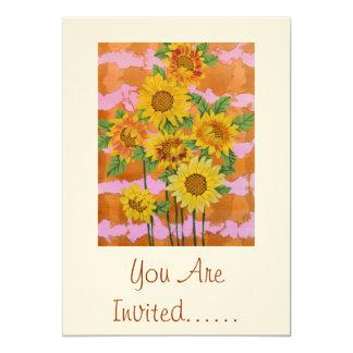 Borde del verano invitación 12,7 x 17,8 cm