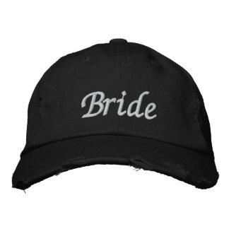 Borde el casquillo del gorra el | de la novia de l gorras bordadas