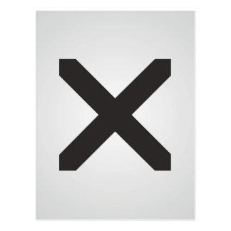 Borde recto X