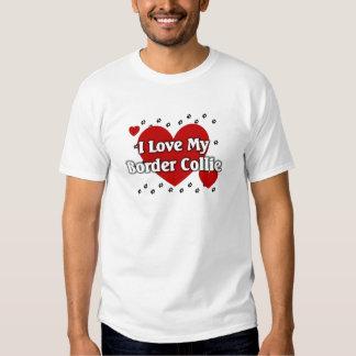 Border collie camisas