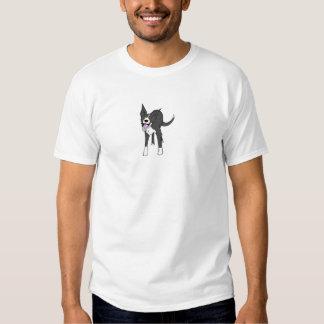 Border collie feliz camisetas