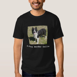 Borderes collies de la aceleración camiseta