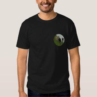 Borderes collies - volquete/Dixie en tierra Camiseta