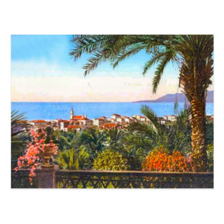 Bordighera, italiano Riviera, Postal