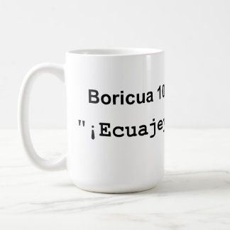 Boricua 101 Ecuajey - taza
