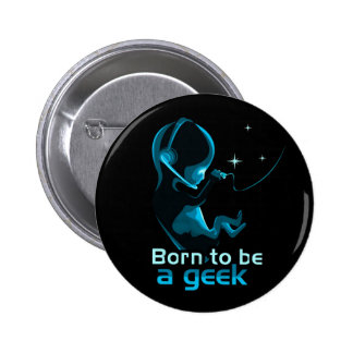 Born to be a Geek - M1 Pins