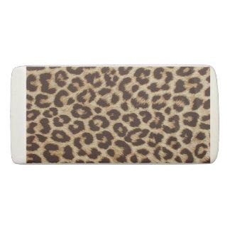Borrador de la cuña del estampado leopardo