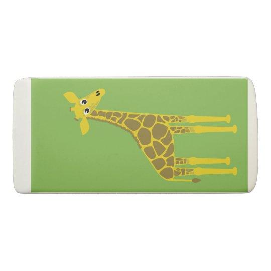 Borrador feliz de la jirafa
