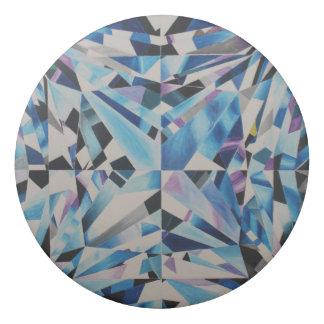 Borrador redondo del diamante de cristal