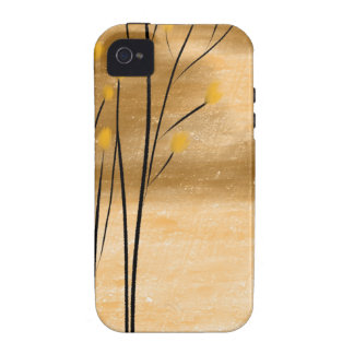 Bosque de oro iPhone 4/4S carcasas
