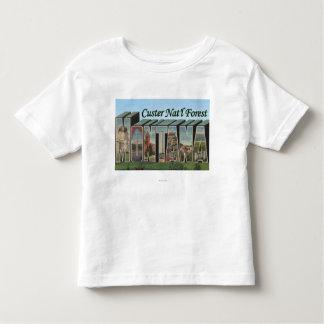 Bosque del Estado de Custer, Montana Camisetas