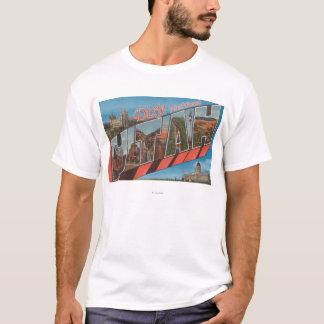 Bosque del Estado de Dixie, Utah - letra grande Camiseta