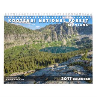 Bosque del Estado de Kootenai de Montana - Calendarios