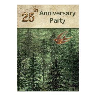 Bosque para la fiesta de aniversario 25 de los comunicados