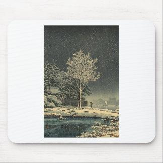 Bosque Tokio de Sumidagawa del 土屋光逸 de Tsuchiya Alfombrilla De Ratón