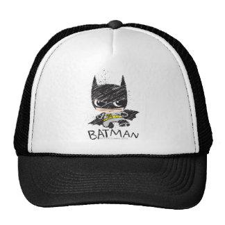 Bosquejo clásico de Chibi Batman Gorros