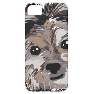 Bosquejo de la cara del perrito del perro de funda para iPhone SE/5/5s