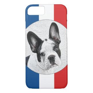 Bosquejo del dogo francés funda iPhone 7