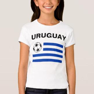 Bosquejo del fútbol, bandera de Uruguay Camisetas