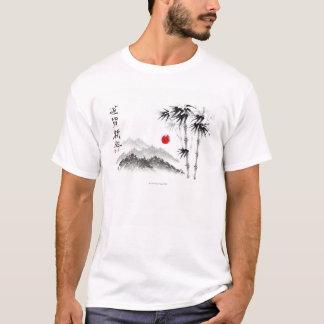 Bosquejo del paisaje camiseta