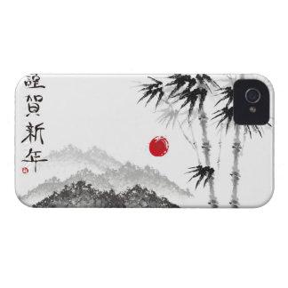 Bosquejo del paisaje carcasa para iPhone 4