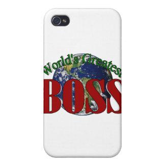 Boss más grande del mundo iPhone 4 cárcasas