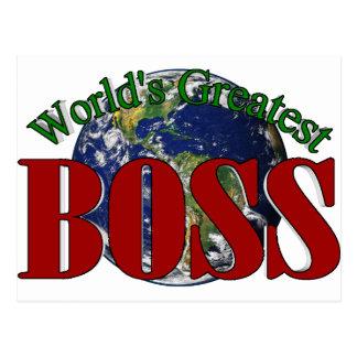 Boss más grande del mundo postal