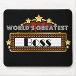 Boss más grande del mundo tapetes de raton