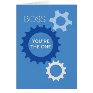 Boss usted es el - feliz cumpleaños