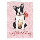 Boston subió tarjeta del día de San Valentín