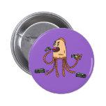 Bot hambriento - botón pin