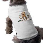 Bot hambriento - camiseta del perro camisetas de mascota