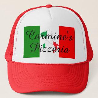 Bota italiana de la bandera del gorra de la