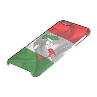 Bota italiana funda transparente para iPhone 6/6S