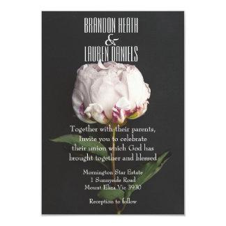 Botánico - invitación cristiana del boda