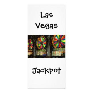 Bote de las ranuras de Las Vegas Tarjeta Publicitaria A Todo Color