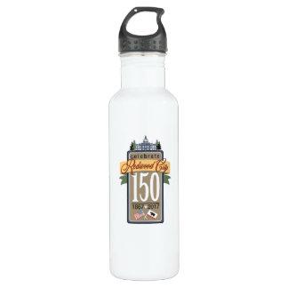 Botella De Agua 150o aniversario de Redwood City