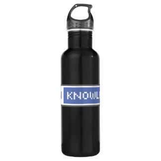 Botella De Agua Abra el conocimiento