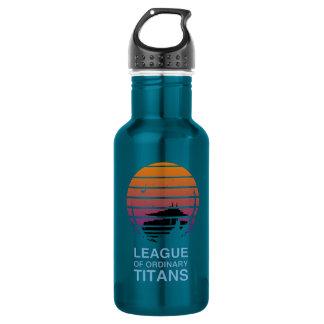 Botella de agua alternativa del logotipo