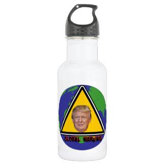 Botella de agua amonestadora global del acero