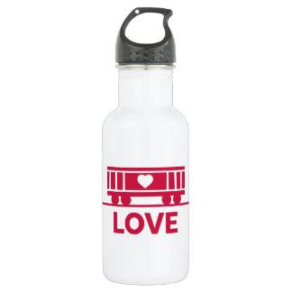 Botella De Agua Amor de los niños del furgón