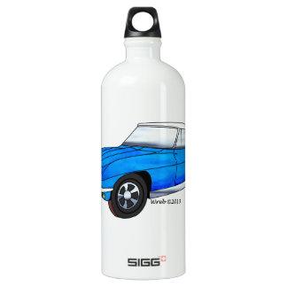 Botella De Agua Automóvil descubierto de 66 Corvettes