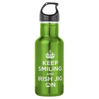 Botella De Agua Bailarín irlandés
