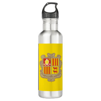 Botella De Agua Bandera de Andorra
