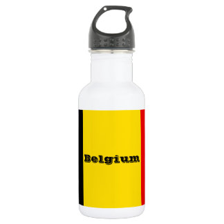 Botella De Agua Bandera de Bélgica