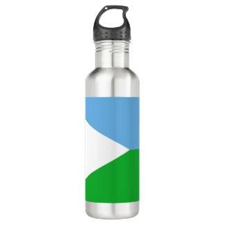 Botella De Agua Bandera de Djibouti