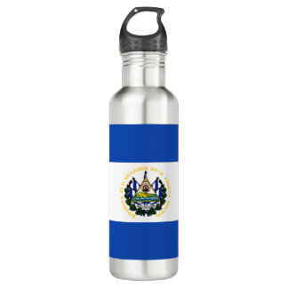 Botella De Agua Bandera de El Salvador