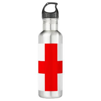 Botella De Agua Bandera de Georgia